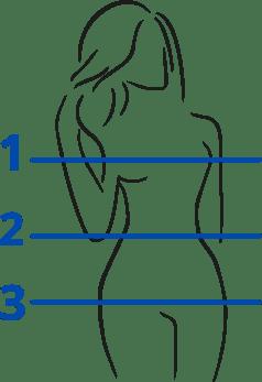 Silouhette Femme pour Guide Taille